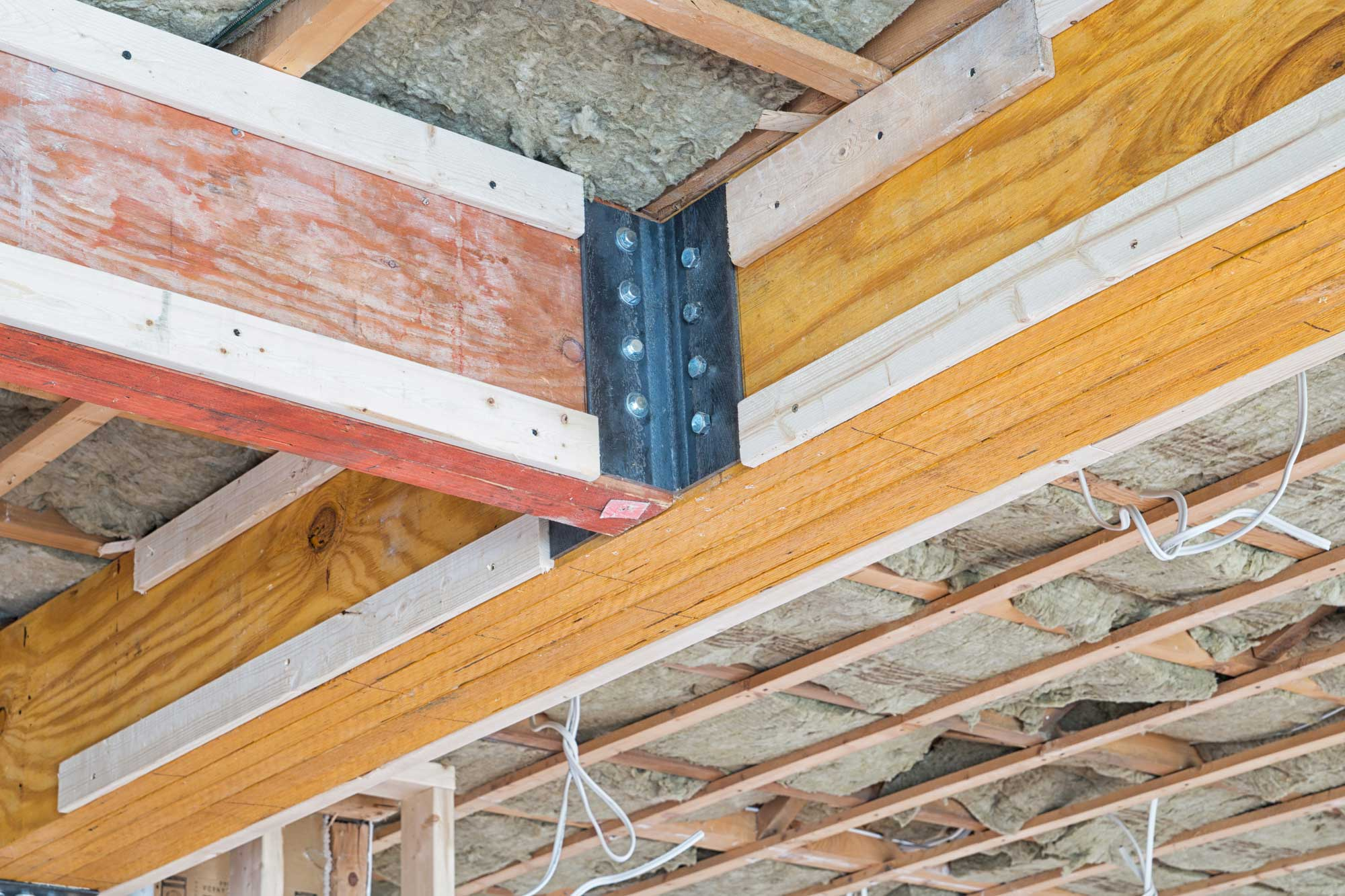 Wood Support Beams