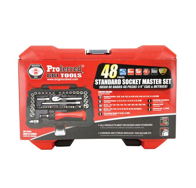 Proferred Socket Master Set